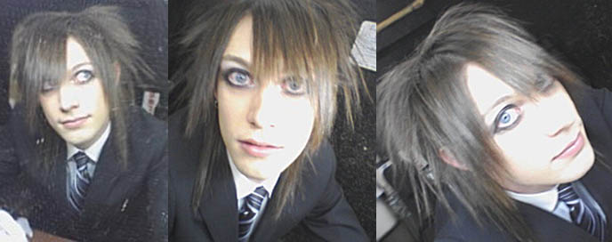 visual kei hairstyle. Laverite, visual kei hair.